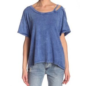 Free People We The Free Alex Cut-out T-shirt